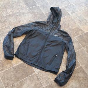 Nike women's size S running windbreaker jacket